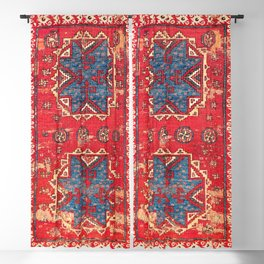 Bergama Northwest Anatolian Rug Blackout Curtain
