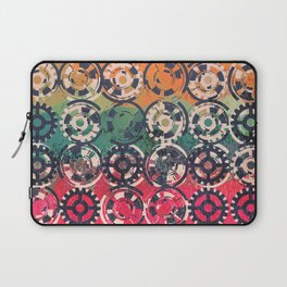 Grunge industrial pattern Laptop Sleeve