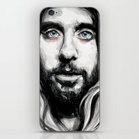 jared leto iPhone & iPod Skins featuring Jared Leto by KlarEm