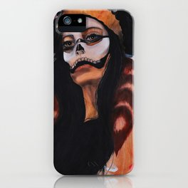 Skull Mask and Headress iPhone Case