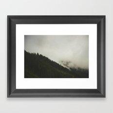 Evergreen Mist Framed Art Print
