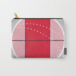 August - black and white graphic Carry-All Pouch