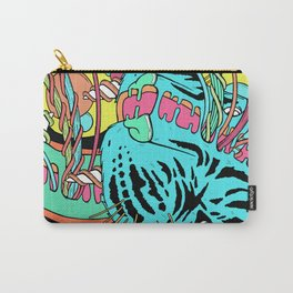 Psychedelic Tiger Carry-All Pouch