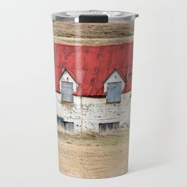 Red Barn Travel Mug