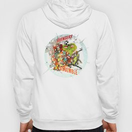 "Avengers Assemble! - a ""you're COLOR"" promo Hoody"