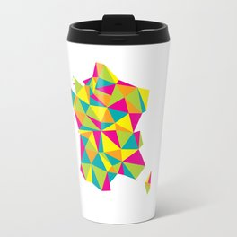 Abstract France Bright Earth Travel Mug