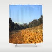rocks Shower Curtains featuring Rocks by Chris' Landscape Images & Designs