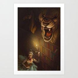 Roaring Library Art Print