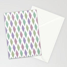 diamond geo Stationery Cards