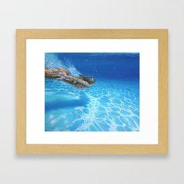 Sea pleasure Framed Art Print