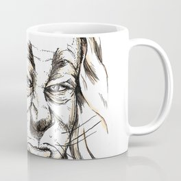 Cowardly Lion - If only Coffee Mug