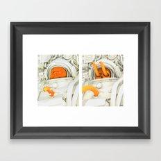 Burster Time-Lapse Framed Art Print