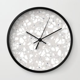 Stones pattern Wall Clock