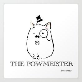 The Powmeister Art Print