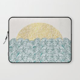 Sunny Tribal Seas Laptop Sleeve