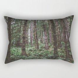 Forest Dark, Forest Deep III Rectangular Pillow