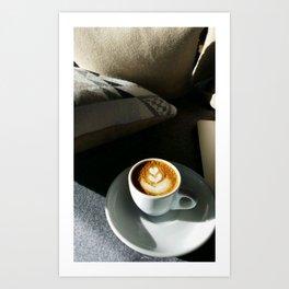Cozy Cup'a'Coffee Art Print
