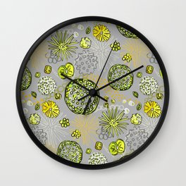 Algae mix Wall Clock
