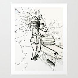 Becca Art Print