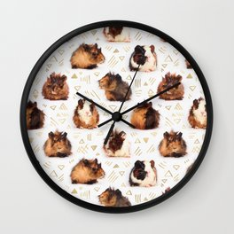 The Essential Guinea Pig Wall Clock