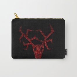 Wendigo Red Carry-All Pouch
