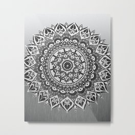 Mandala Lace Metal Print