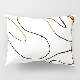 The T-Zone In Abstract Pillow Sham