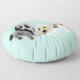 Simon, Riley, Holden Floor Pillow
