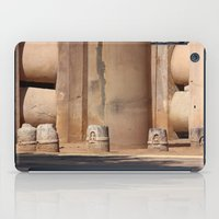 buddhism iPad Cases featuring Buddhism ancient place in Sanchi by Four Hands Art