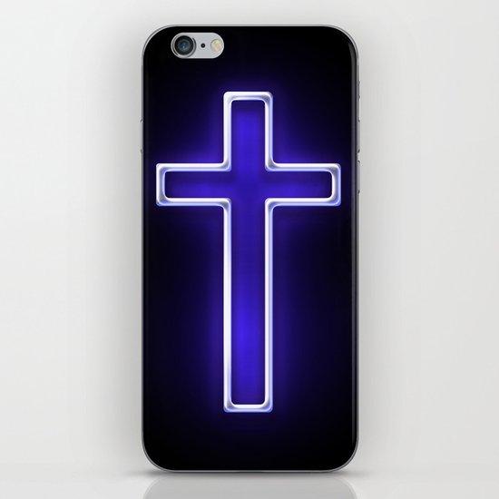 Metallic Cross iPhone & iPod Skin