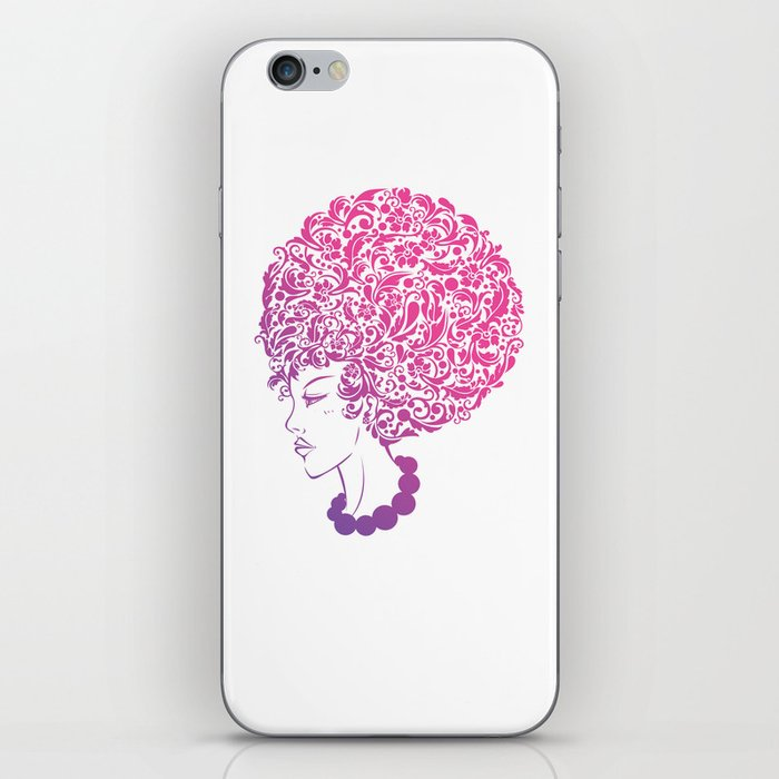 Ms. Floral iPhone Skin