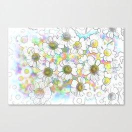 Spectrum of Flowers Canvas Print