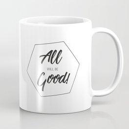 Inspiring Gift Ideas for Entrepreneurs #5 - Black on White Coffee Mug
