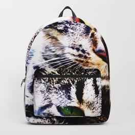 Big Cat Face Backpack