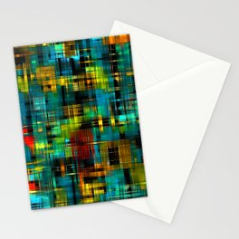 Art splash brush strokes paint abstract seamless pattern print background Stationery Cards