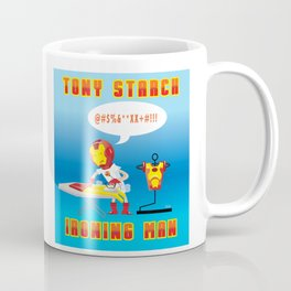 Tony Starch: Ironing Man Coffee Mug