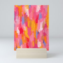 Share Love - Abstract Painting Mini Art Print