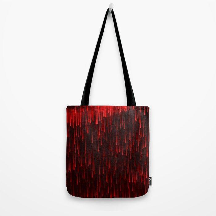 Raining Red Tote Bag