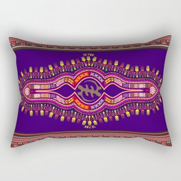 Purple Version Rectangular Pillow