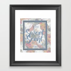 The Sweet Scent of Spring Framed Art Print