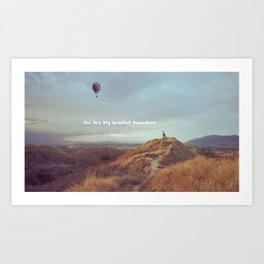 Waltz for Ellie Art Print