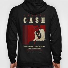 Cash Live at Folsom Prison Hoody