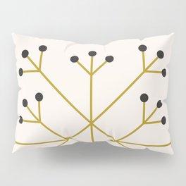Mod Snowflake Olive Pillow Sham