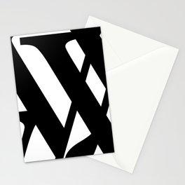 Hidden Letters. Baskerville Y Stationery Cards