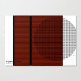 Minimal Unplugged Canvas Print