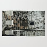 industrial Area & Throw Rugs featuring Industrial  by Novella Photography