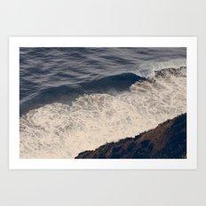 Vintage Ocean 08 Art Print