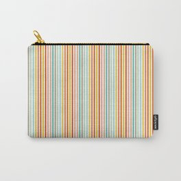 Striped Up Carry-All Pouch