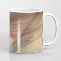 minerals Mugs featuring Hills Painted by Earth Minerals by Leland D Howard