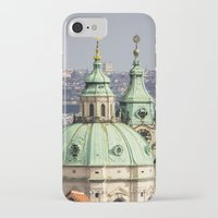 prague iPhone & iPod Cases featuring Prague by Veronika